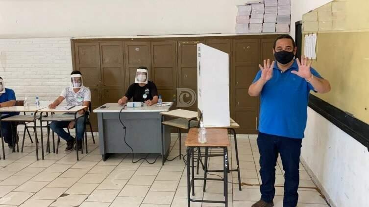 Marcelo Iunes, candidato a reeleição em Corumbá. (Foto: Diário Corumbaense)