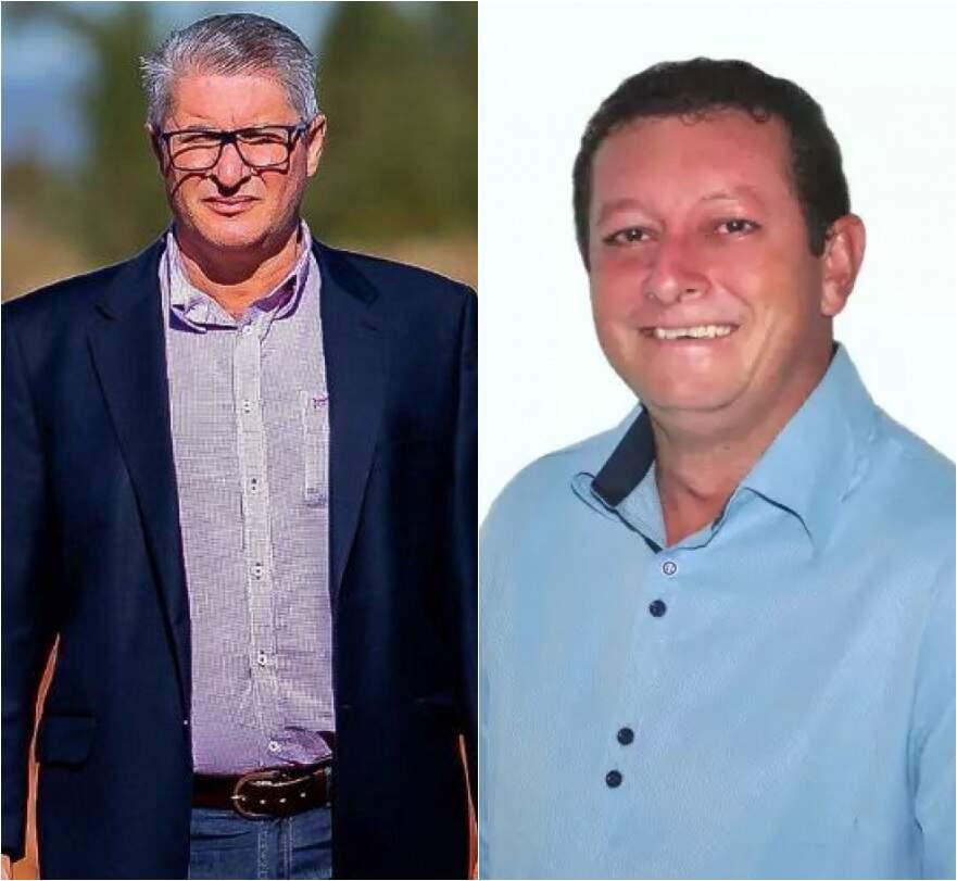 Da esquerda para a direita: Franjotti e Dalmy não enfrentaram adversários nas urnas em 2020