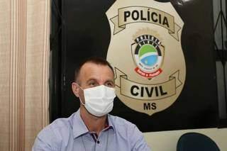 Nilson Friedrich, delagado da 4ª Delegacia de Polícia Civil (Foto: Paulo Francis)