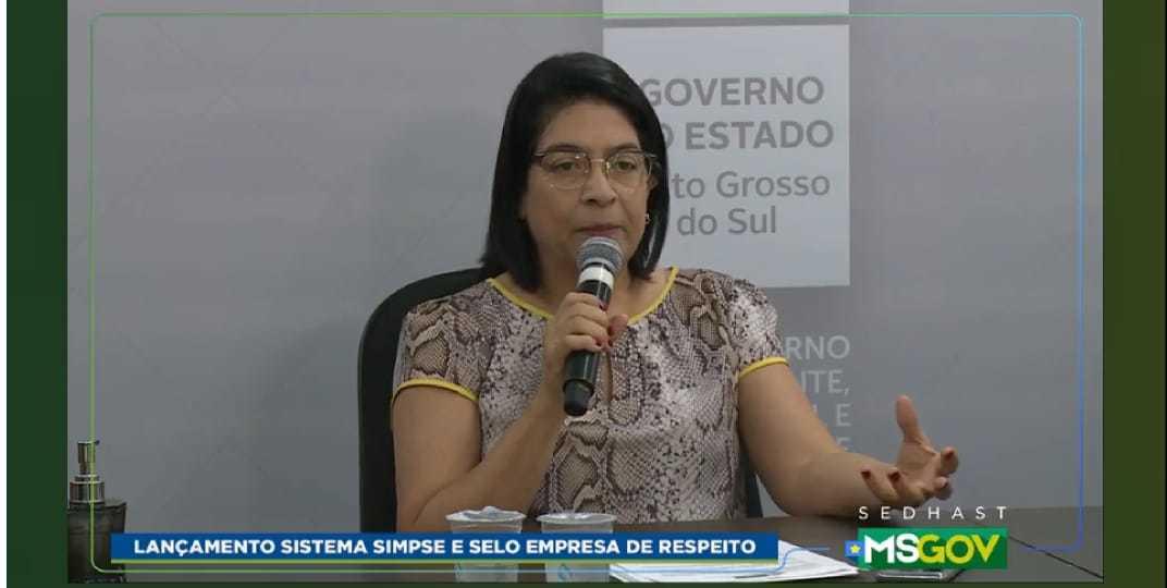 Secretária de Estado de Direitos Humanos, Assistência Social e Trabalho, Elisa Cléia (Foto: Reprodução)