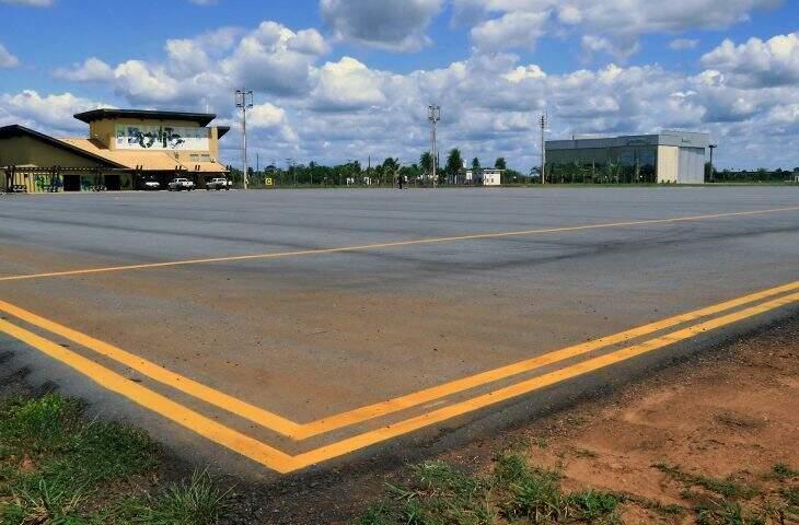 Aeroporto de Bonito volta a receber voos da companhia aérea Azul (Foto: Edemir Rodrigues/Governo do Estado)