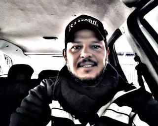 Taxista, Luciano Barbosa, de 44 anos, foi vítima de latrocínio. (Foto: Arquivo pessoal)