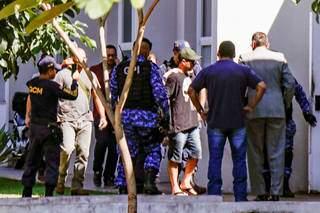 Valtenir Pereira da Silva, de 35 anos, foi preso por assassinar duas pessoas em churrasco. (Foto: Arquivo/Henrique Kawaminami)