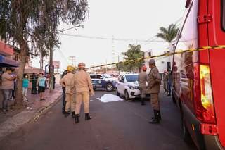Policiais foram mortos na rua Joaquim Murtinho. (Foto: Arquivo/Paulo Francis)