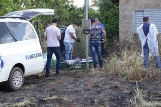Pedaços de corpo foram encontrados em terreno. (Foto: Arquivo/Kísie Ainoã)
