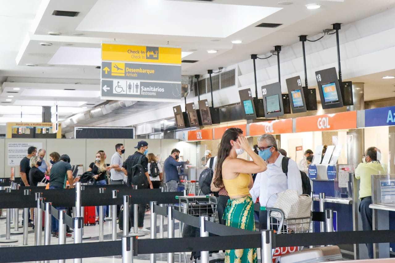 Aeroporto Internacional de Campo Grande deve ser leilado em 2022 (Foto: Henrique Kawaminami)