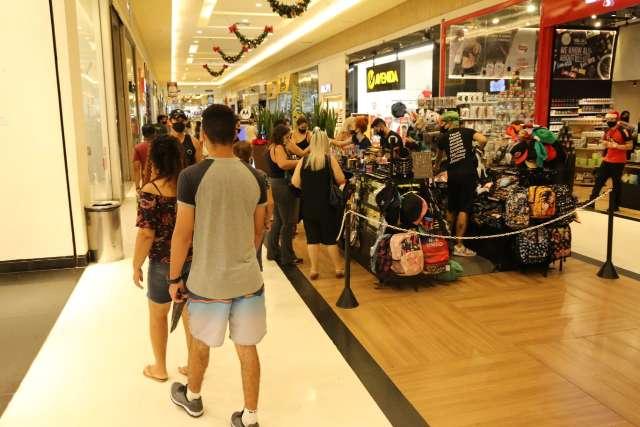 Shoppings têm procura, mas sem o tumulto de anos anteriores