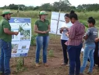 Eetudantes da UEMS de Aquidauana em aula (Foto: Portal Aquidauana)