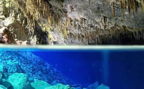 Portaria federal libera exploração comercial da Gruta do Lago Azul