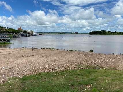 Pouca chuva em pontos cruciais dita 3º ano sem pulso das águas no Rio Paraguai