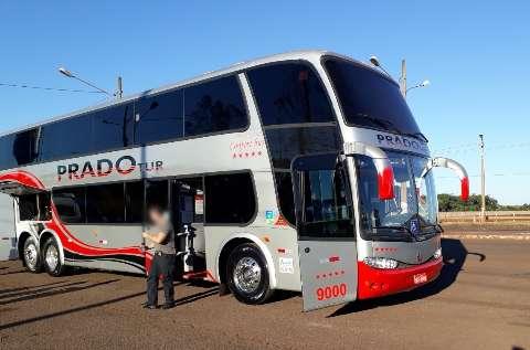 Ônibus que levava fiéis de graça a SP escondia até R$ 20 milhões em cocaína