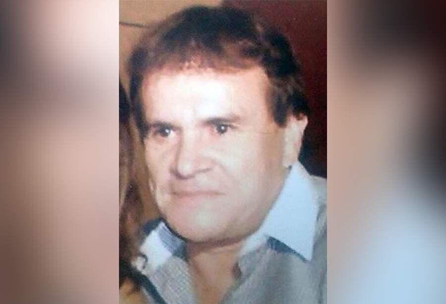Clemencio González Giménez na última foto antes de sumir por 15 anos (Foto: Reprodução)