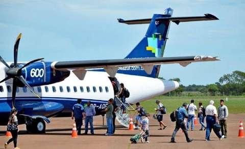 Terceira maior cidade de MS retoma voos comerciais