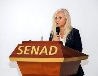 A advogada Zully Rolón, nova ministra antidrogas do Paraguai (Foto: Divulgação/Senad)