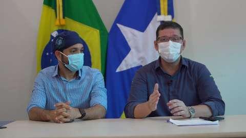 Governador de Rondônia agradece MS por ter cedido 12 leitos de UTI