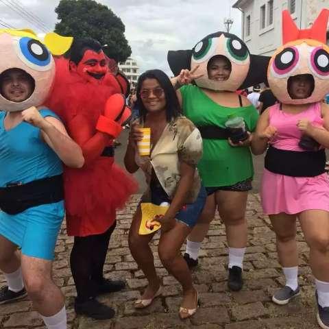 No mapa de Carnaval, coloque a fantasia e crie seu próprio bloco