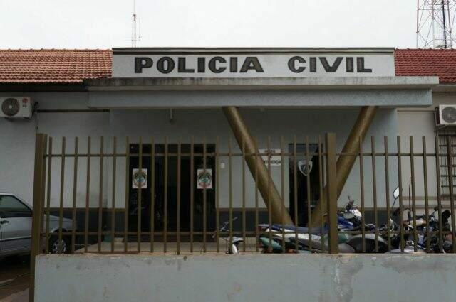 O caso foi registrado na Delegacia de Polícia Civil de Rio Brilhante. (Foto: Olimar Gamarra)