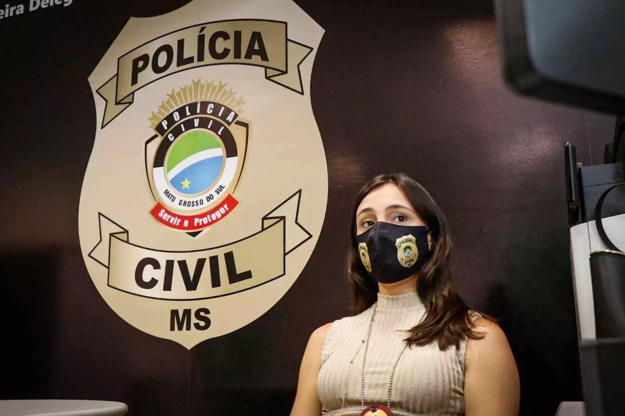 Delegada Fernanda Piovano em entrevista (Foto: Henrique Kawaminami/Arquivo)
