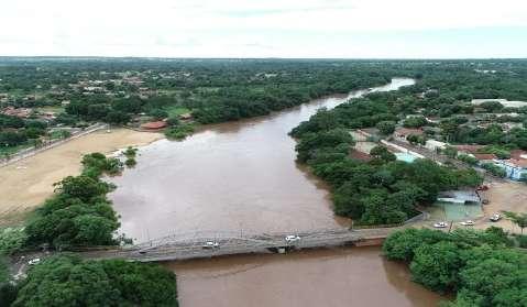 Mesmo com tendência de tempo firme, monitoramento do nível dos rios permanece