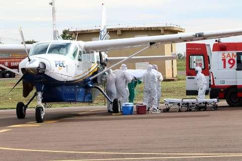 Paciente de Rondônia é transferida para hospital no interior de MS