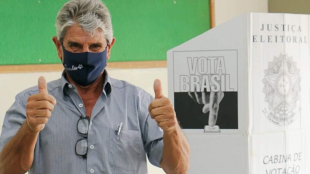Daltro Fiuza foi o mais votado em novembro para a prefeitura de Sidrolândia, mas não pôde assumir. (Foto: Marcos Tomé)