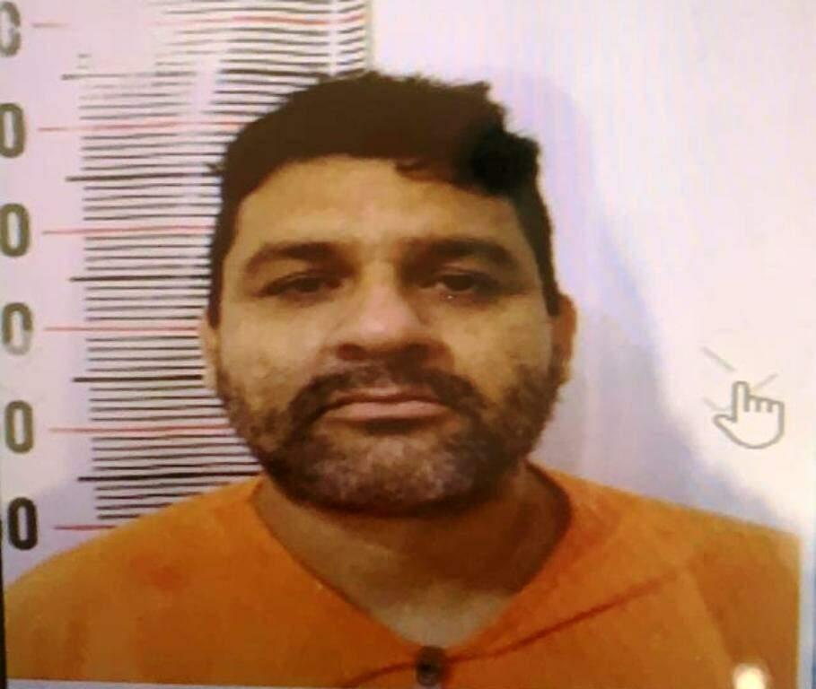 Manoel Edvaldo Ortiz Gil fugiu hoje do presídio de Ponta Porã (Foto: Reprodução)
