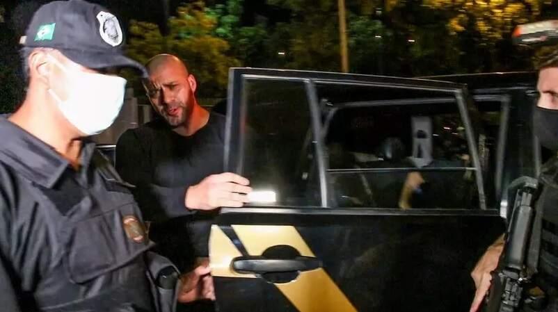 Deputado federal Daniel Silveira foi preso na última terça-feira (Foto: Betinho Casas Novas/Futura Press/Estadão Conteúdo)