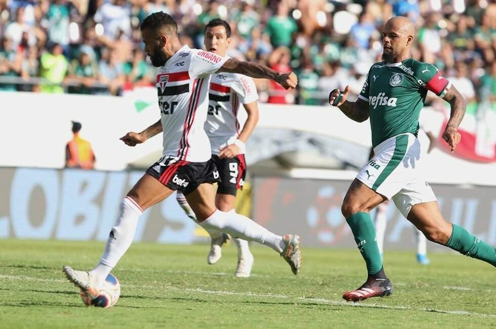 Palmeiras quer quebrar jejum contra o tricolor na temporada (Foto: Rubens Chiri / São Paulo FC)