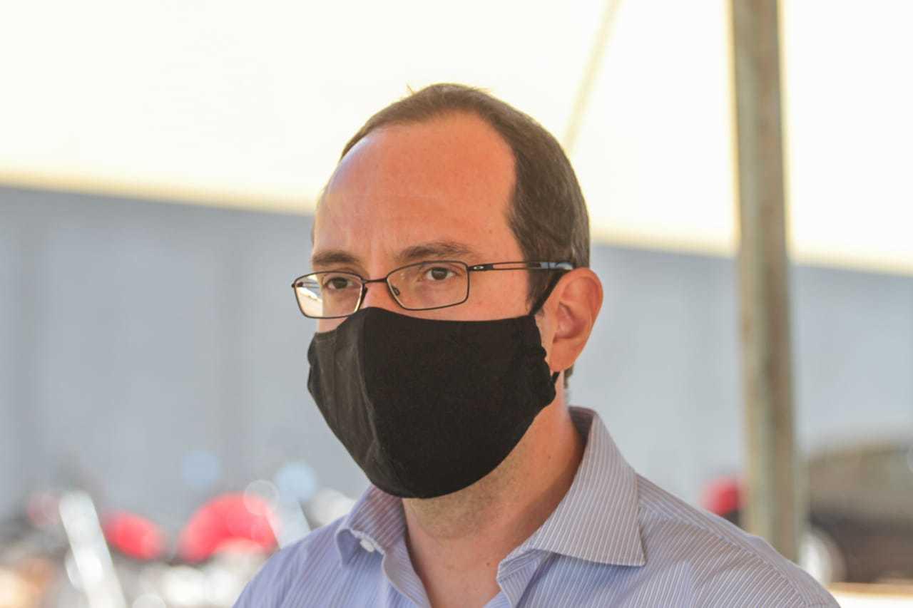 Defensor Pedro Paulo Gasparini coordenador do Núcleo de Ações Estratégicas (Foto: Marcos Maluf)