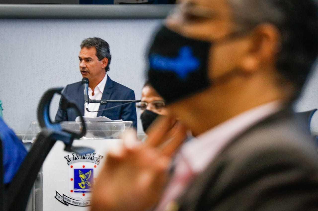 Marquinhos Trad adiantou que vai se reunir com deputados e senadores na prpoxima terça-feira (23). (Foto: Henrique Kawaminami)