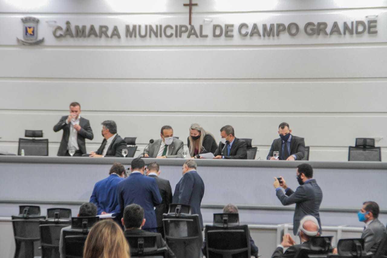 Sessão extraordinária na Câmara de Vereadores em janeiro (Foto: Marcos Maluf/Arquivo)