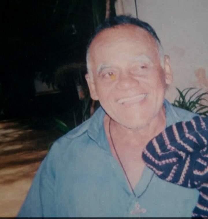 Florisvaldo sofre de Mal de Alzheimer(Foto: Arquivo Pessoal)