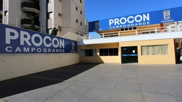 Sede do Procon, em Campo Grande. (Foto: Prefeitura de Campo Grande)