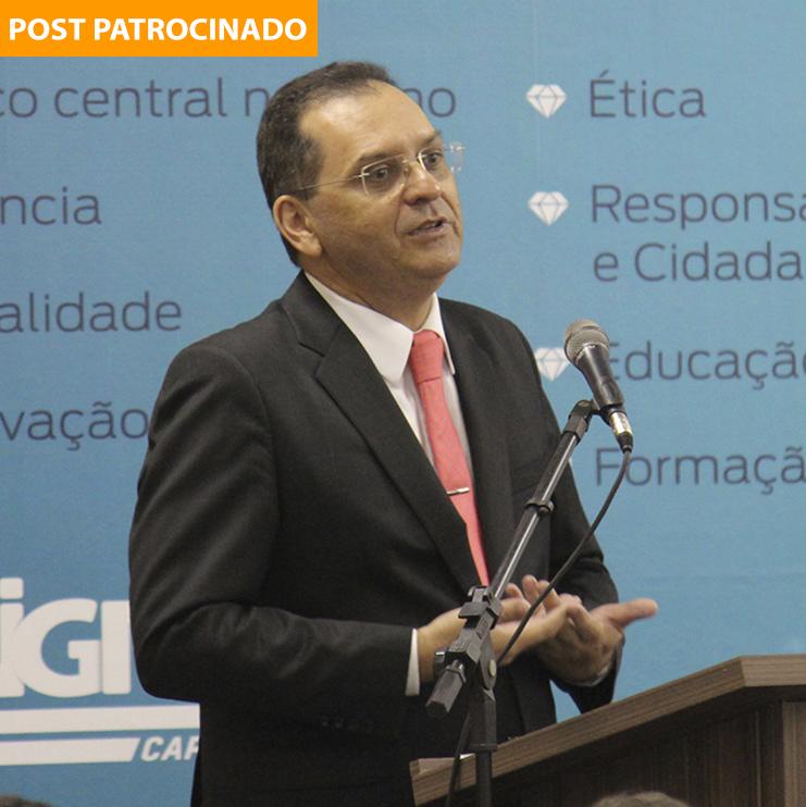 Ministro Reynaldo Fonseca na Unigran Capital (Foto: Divulgação)