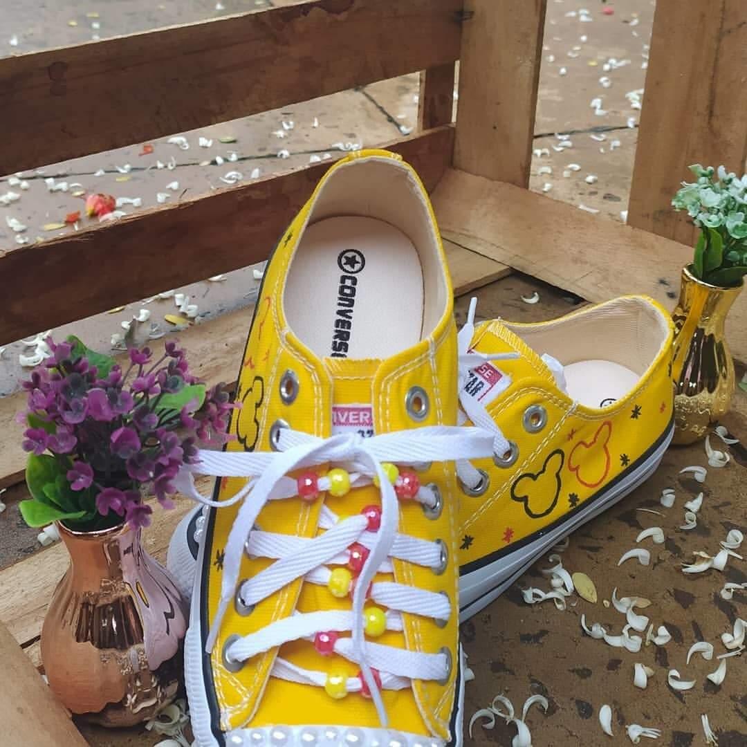 Aqui, versão amarela e personalizada de Lary (Foto: Arquivo Pessoal)
