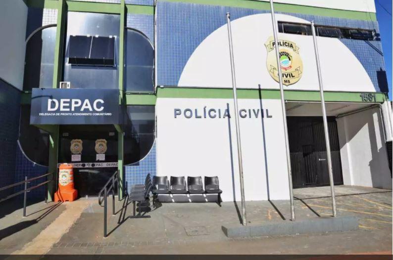 O caso foi registrado da Depac (Delegacia de Pronto Atendimento Comunitário) Centro. (Foto: Arquivo/Campo Grande News)