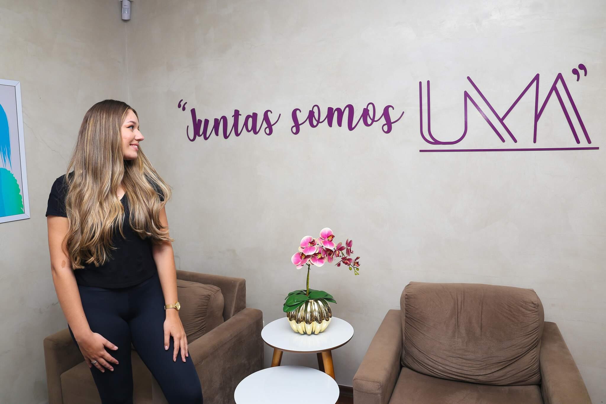 UMA Clube de Beleza trouxe para Campo Grande conceito em que cliente se torna sócia. (Foto: Paulo Francis)
