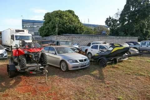 Sejusp cobra celeridade ao TJMS para realizar leilões de veículos apreendidos