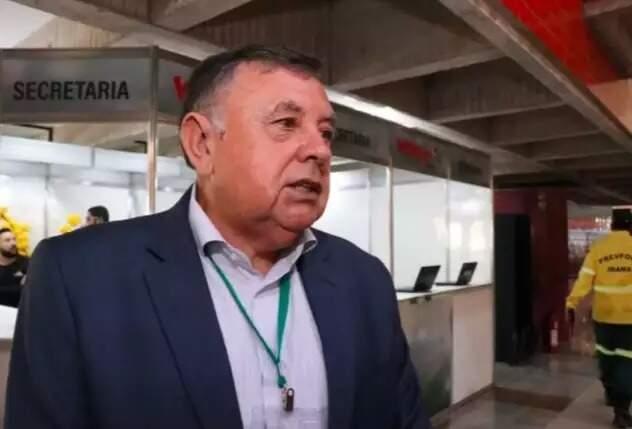 Luiz Carlos Marchetti assumiu o Ibama em MS em 2019 (Foto/Arquivo: Henrique Kawaminami)