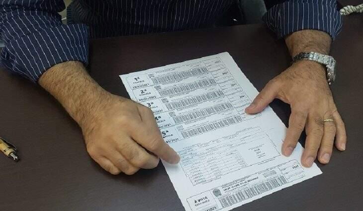 Carnê com a cobrança do IPVA (Imposto sobre a Propriedade de Veículo Automotor). (Foto: Divulgação)