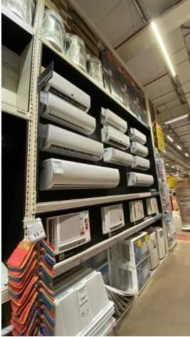 Ar-condicionado também entra em oferta durante o Festival da Construção. (Foto: Divulgação)