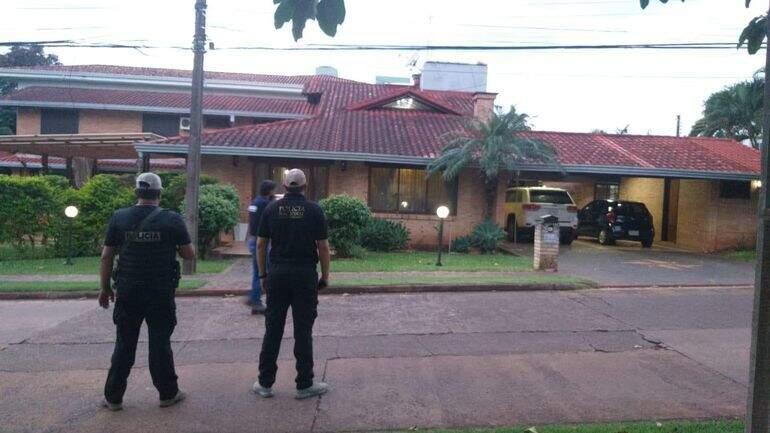 Casa em condomínio de luxo no Paraguai onde brasileiro foi preso (Divulgação)