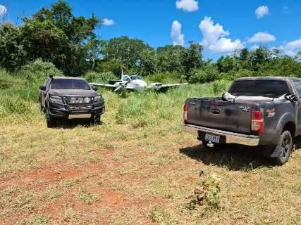 Quadrilha foi presa com 1,4 tonelada de cocaína e até avião na fazenda de Pavão