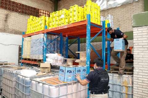 Agência antidrogas vasculha empresa suspeita de enviar cocaína recorde à Europa