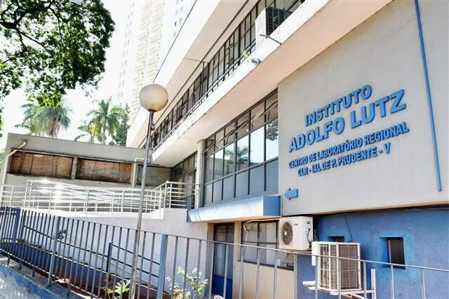 Amostras foram encaminhadas pelo Instituto Adolfo Lutz, em São Paulo (Foto: Divulgação/Prefeitura de Presidente Prudente)