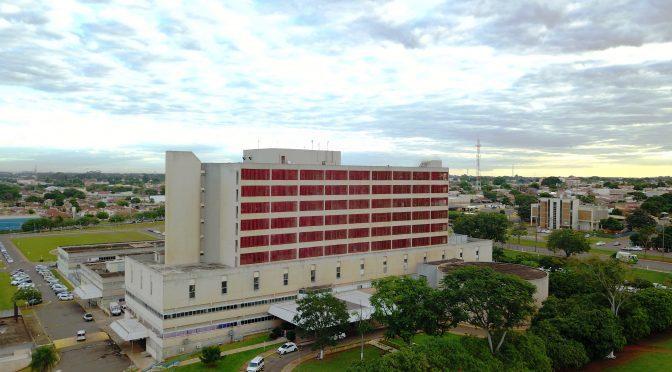 Sede do Hospital Regional em Campo Grande. (Foto: Divulgação)