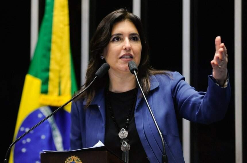 Senadora Simone Tebet (MDB) está no penúltimo ano do mandato e pode não disputar reeleição (Foto: Moreira Mariz/Agência Senado)