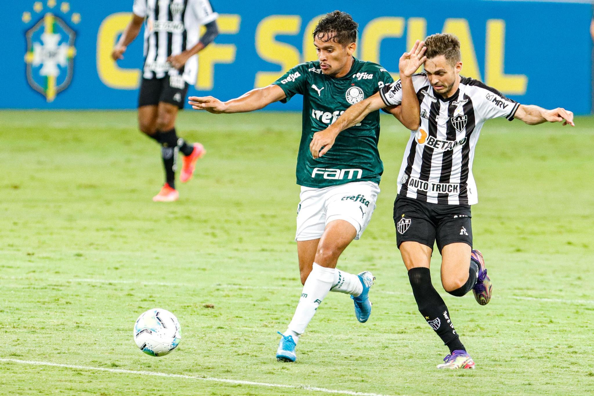 Lance durante partida entra Atlético-MG e Palmeiras, válida pela trigésima oitava rodada do Brasileirão, Série A, no Mineirão, na cidade de Belo Horizonte, MG, nesta quinta feira, 25. (Foto: Estadão Conteúdo)
