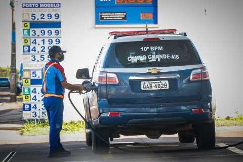 Estado reajusta valor pago por combustíveis e postos voltam a abastecer viaturas