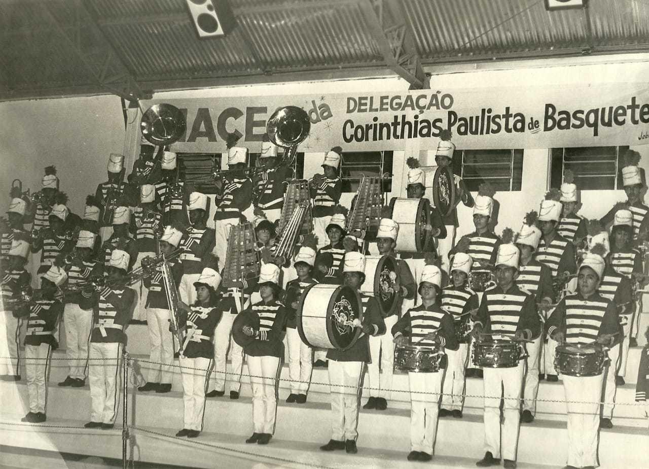 Registro da banda escolar (Foto: Arquivo Pessoal)
